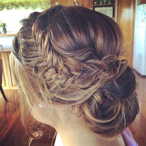 upstyle hair styles fishtail upstyle www coastalstylemobilehairdressing