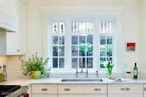 the kitchen window sink