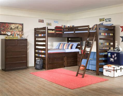 boy and girl bunk beds splashy triple bunk beds decoration ideas for kids