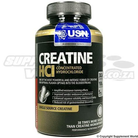 creatine hcl usn creatine hcl