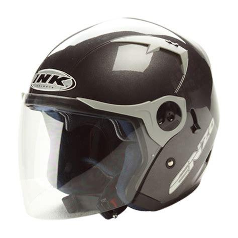Helm Ink Enzo Putih Helm Ink Enzo Solid Half Elevenia