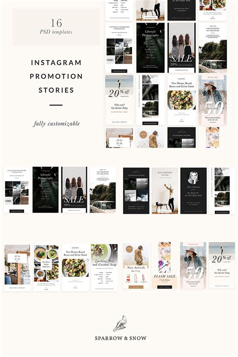 Instagram Stories Templates Psd Template 64557 Instagram Stories Templates