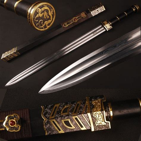 Kitchen Knives Ratings folded steel blade chinese sword of han dynasty eastern