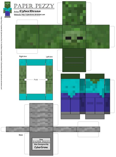 minecraft coloring pages mutant zombie mutant zombie papercraft
