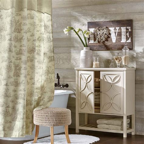 country shower curtains for the bathroom welcome country farmhouse d 233 cor to your home