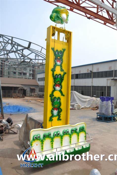 Carousel Bike Froggy Hijau family rides ali brothers amusement rides professional manufacturer