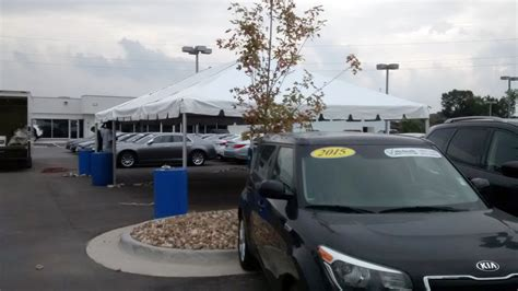 coralville used car superstore grand opening event rentals setup by big ten rentals