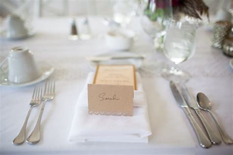 how to set dinner table heartfelt gestures for special real wedding photos sarah ben the sweetest occasion
