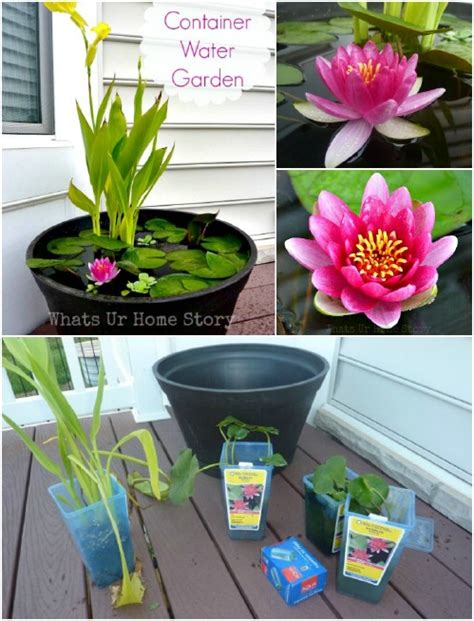 mini water garden ideas 30 creative and stunning water features to adorn your