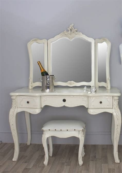 provence bedroom vanity white antique furnindo a gorgeous french provincial style cream dressing table