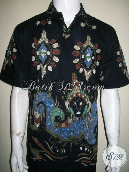 Baju Batik Benang Raja Baju Batik Tulis Motif Raja Naga Warna Hitam Keren Abiss