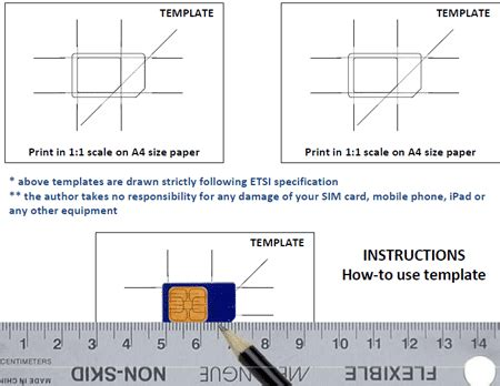 cut sim card iphone 4 template how to make a micro sim from a normal sim micro sim
