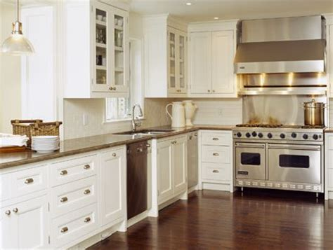 off white kitchen cabinets with stainless appliances kitchens creamy white kitchen cabinets glass front