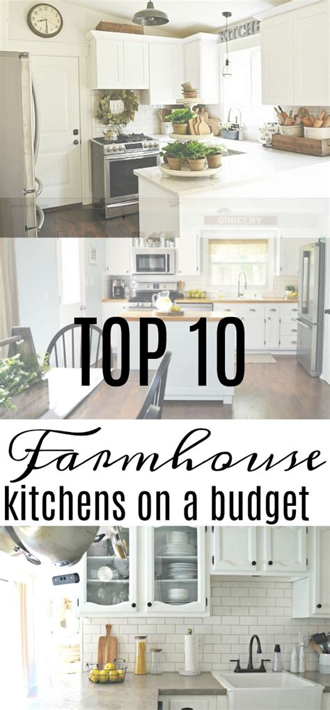 farmhouse kitchen ideas on a budget top 10 farmhouse kitchens on a budget seeking lavendar