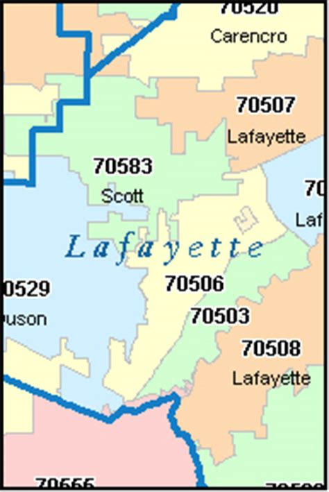 louisiana map by zip code lafayette louisiana la zip code map downloads