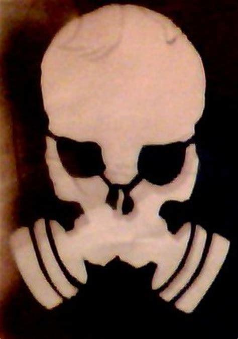 Creambath Masker Bq Yp skull gas mask stencil by enigmaandpnfstencils on deviantart