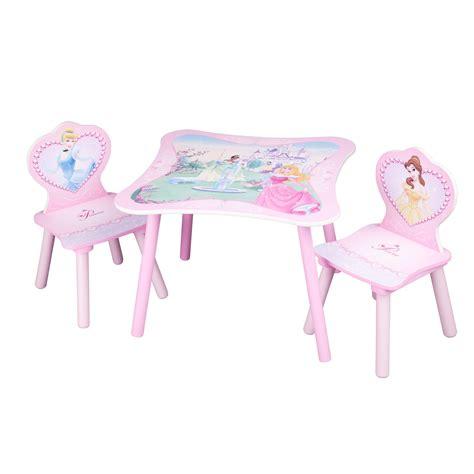 disney princess table chairs set