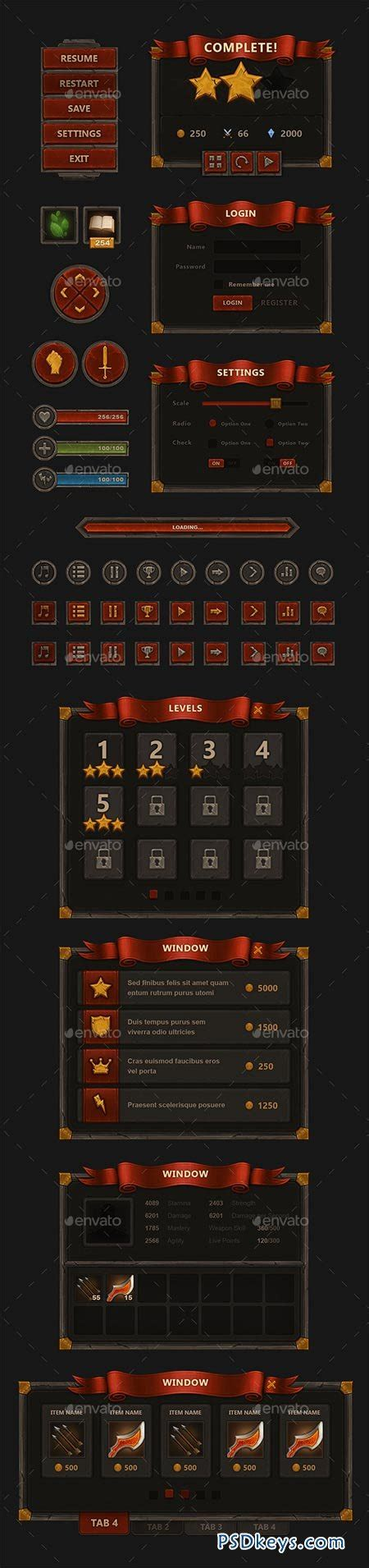 magic card template photoshop mobile interface 9009432 187 free