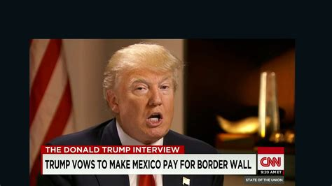 donald trump quotes on the wall poll as trump rises support for border security falls