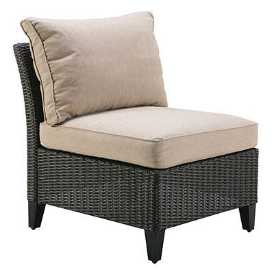 Wilson And Fisher Log Chair by Wilson Fisher 174 Key Largo Resin Wicker Cushioned Modular