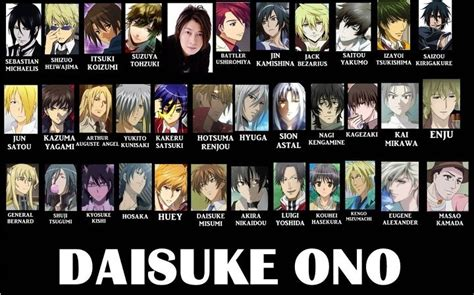 Anime Voice Actors by Sebastian And Shizuo Yesh Actors