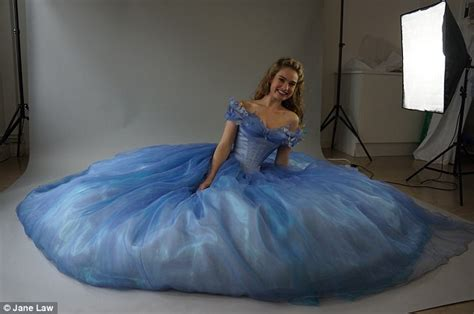 cinderella film how long cinderella dress maker reveals how she wove her magic