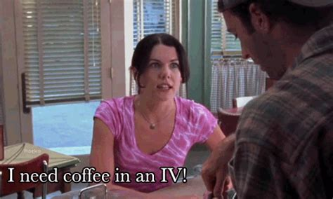 Gilmore Girls Meme - friday night dinner i need coffee in an iv