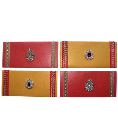 Handmade Shagun Envelopes - handmade kreation paper designer money shagun envelopes