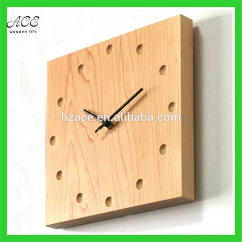 custom wood wall clock home decorative wood wall clock
