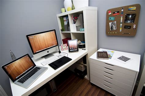 ikea home design mac 50 workspace designs for inspiration designmaz