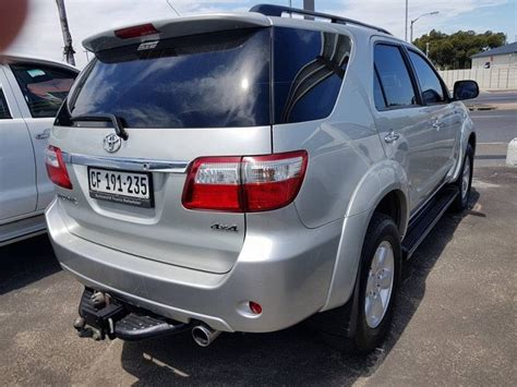 used toyota fortuner 2010 toyota fortuner 3 0 d4d 4x4 corne 0763353361 for sale in western cape