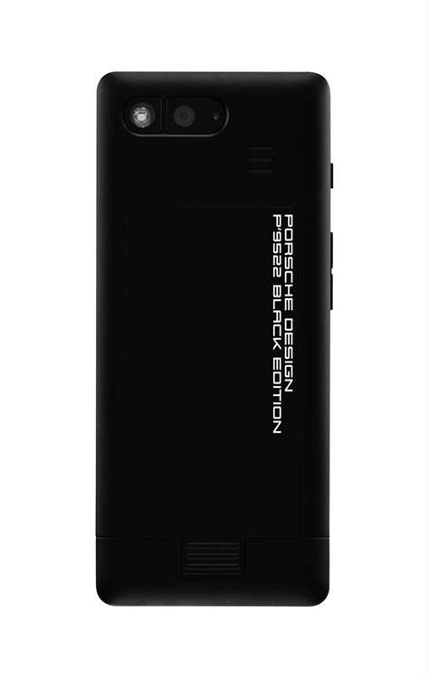 Porsche Design P 9522 Black Edition Mobile Phone