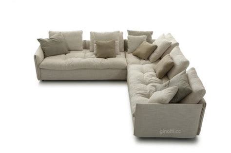 Comfortable Modern Sofa by White Comfortable Modern Fabric Sofas Upholstered Home With Feather L Shaped Seat Of