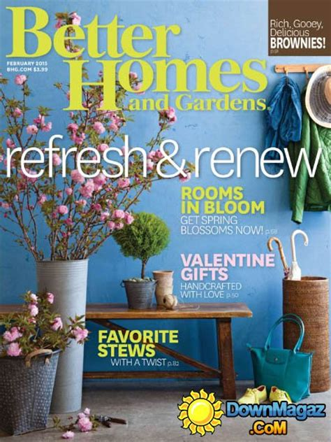 house and garden magazine usa better homes and gardens usa february 2015 187 download