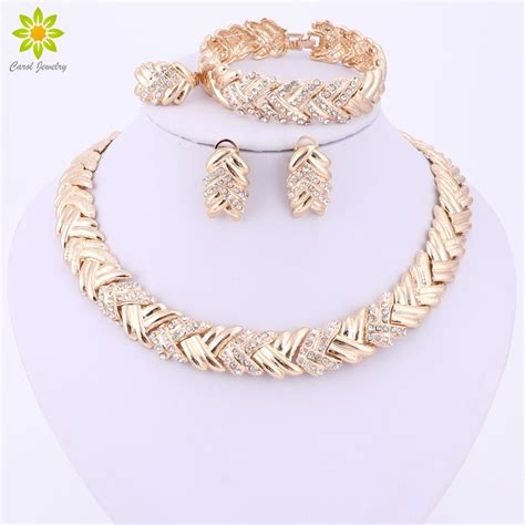 How To Buy Gold Jewelry 2 by Aliexpress Buy 2017 Fashion Dubai Gold Color Jewelry