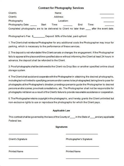 event management agreement template event contract template 19 word excel pdf documents