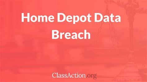 Home Depot Data Breach by Home Depot Data Breach Lawsuit Classaction Org