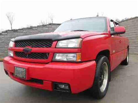 find   chevy silverado ss victory red  miles