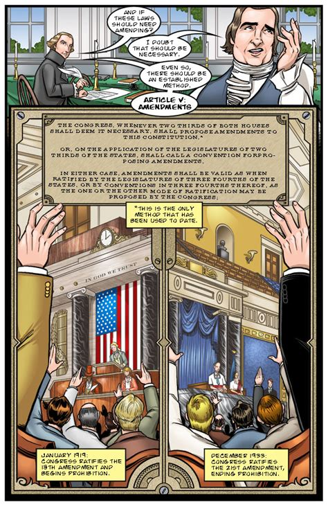 the united states constitution a graphic adaptation panel mania the united states constitution a graphic