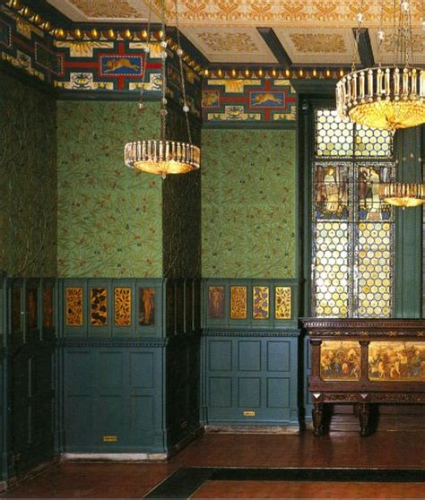 William Morris Green Dining Room by 17 Best Images About William Morris Designs On