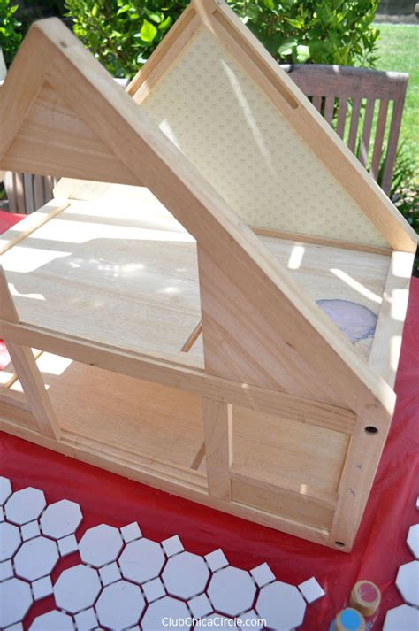 roof design doll house upcycled dollhouse herb garden