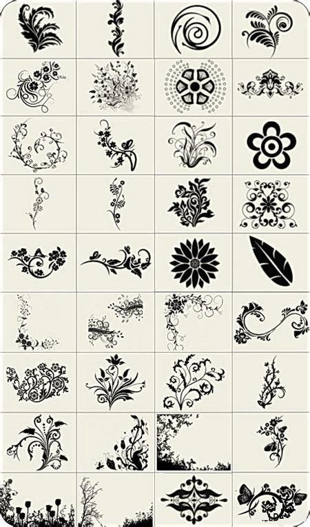 definition with decorative high definition decorative lace pattern brush collection