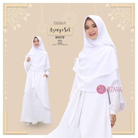 Catrina Set Pesta Terbaru Baju Muslim Wanita Original By Khadijah gamis zizara azmya set white baju muslim wanita baju muslimah kini hadir untukmu yang cantik