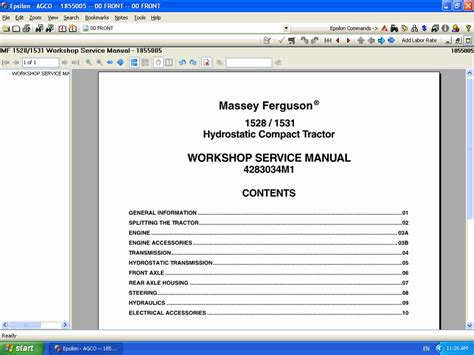 service manual massey ferguson america service manuals 2014 repair manual trucks buses repair