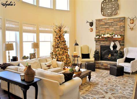 sophias great room rustic christmas