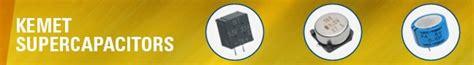 nec tokin supercapacitor supercapacitors kemet mouser europe