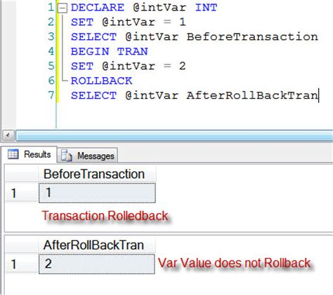Sql Declare Table Variable by Sql Server Difference Temp Table And Table Variable