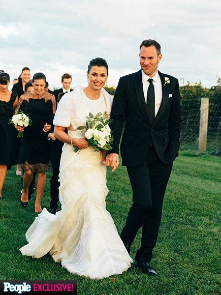 Bridget Moynahan Andrew Frankel | bridget moynahan wedding inside her vineyard nuptials to