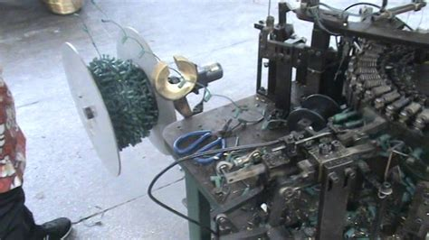 ice light inserting machine for christmas lights youtube