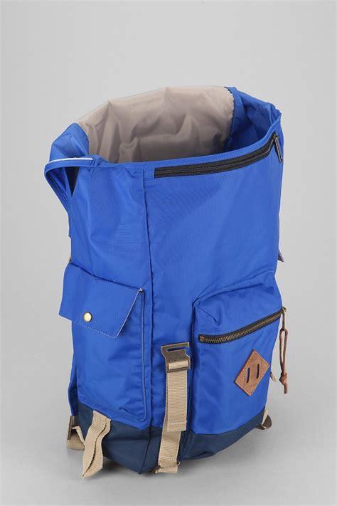 adobree adobree backpack jansport adobe backpack in blue for lyst